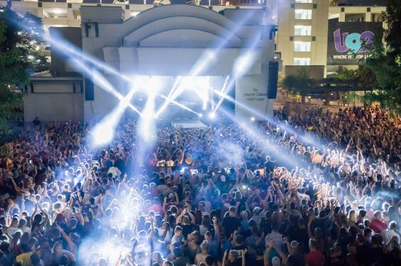You won't want to miss the summer concerts at The Gallivan Center