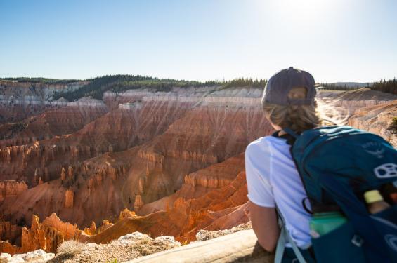 Point Supreme Overlook Cedar Breaks National Monument