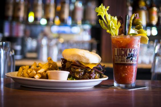 Lucky 13's burgers are some of the best