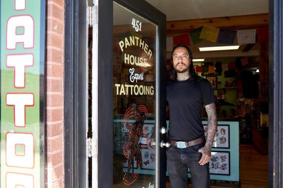 Oscar Garcia at Panther House Tattoo