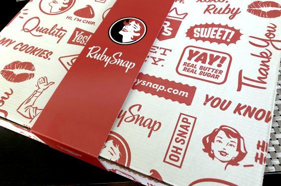 RubySnap Fresh Cookies