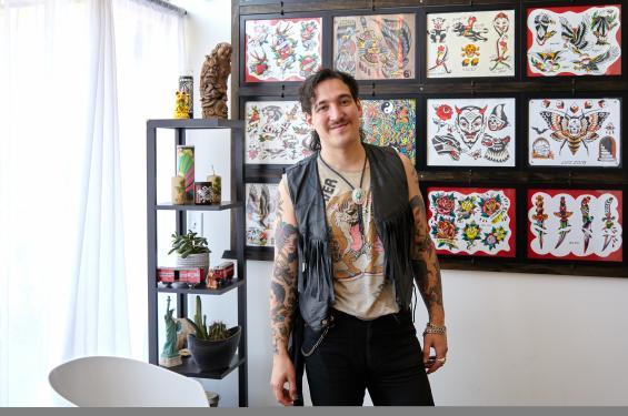 Shiro Aoki of Sweetneedles Tattoo