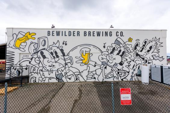 Bewilder Brewing Mural