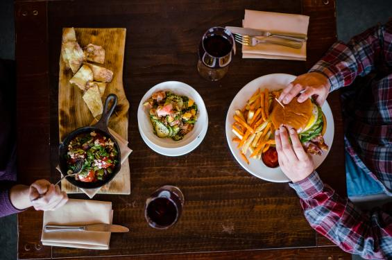 Enjoy some comfort food at Solitude Mountain Resort's Honeycomb Grill