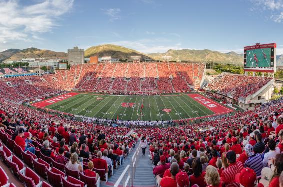 University of Utah Football Game