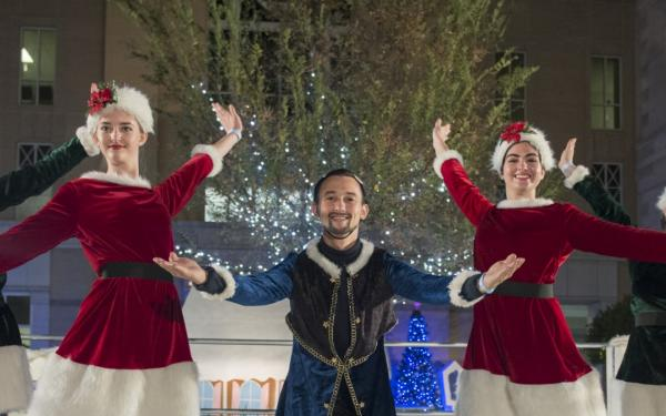 Winterfest performers make the night magical