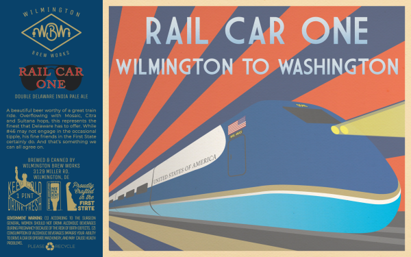 Rail Car One Wilmington Brew Works