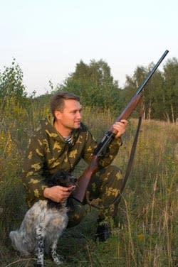 Hunting - Man & Dog