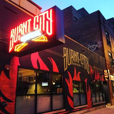 Chicago (Beer) Shall Rise Again: Burnt City Brewing