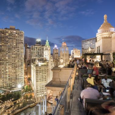 LH Rooftop ©LondonHouse Chicago