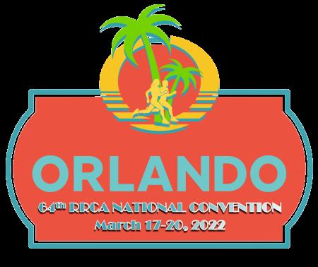 Orlando 64th RRCA National Convention logo
