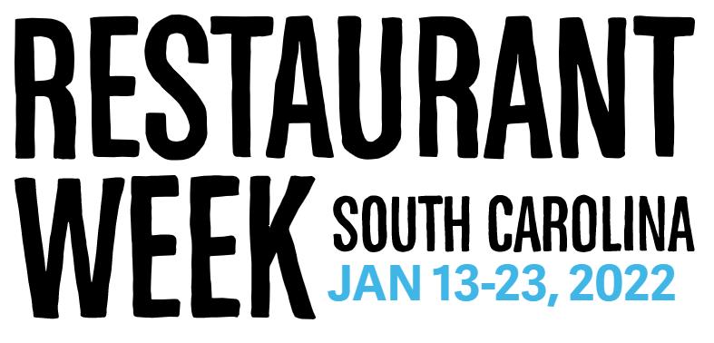Logo for SC Restaurant Week 2022