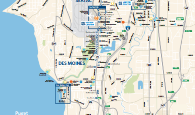 Area Maps Seattle Southside Regional Tourism Authority