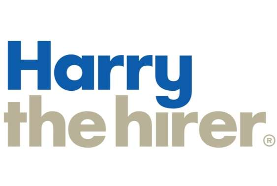 Harry the hirer logo