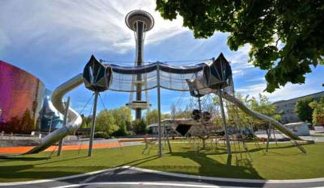 Art + Play at the Seattle Center
