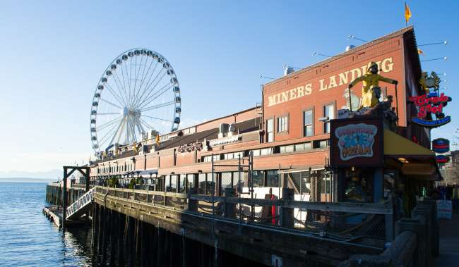 Seattle Waterfront and the Great Wheel