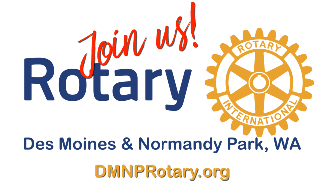 Rotary Club of Des moines and Normandy Park
