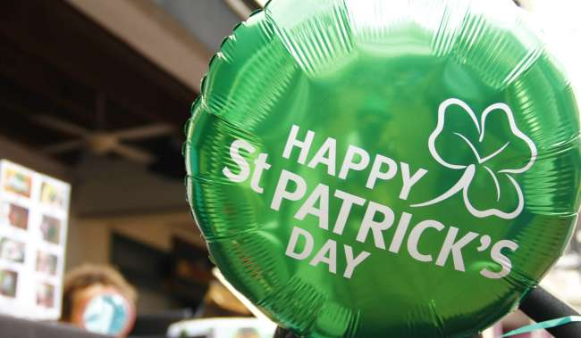 St. Patrick's Day Balloon