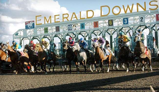 Emerald Downs horse race
