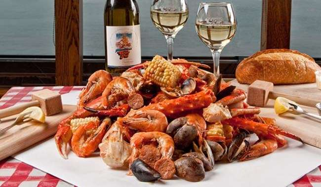 Crab Feed and Wine for Two