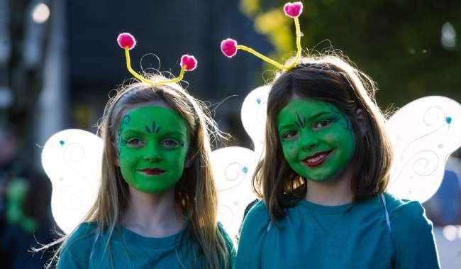 Burien UFO Halloween Kid Costumes