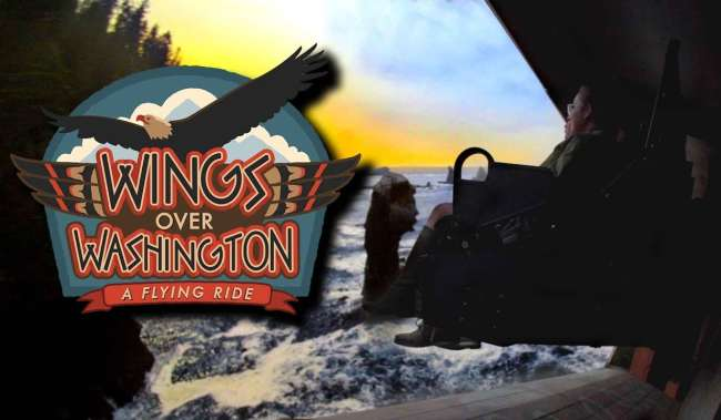 Wings Over Washington Signage