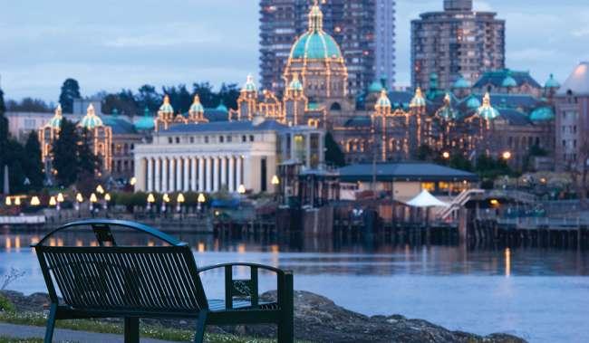 Victoria BC Capital Dome