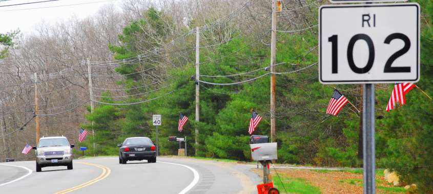 Rhode Trip: Scenic Route 102