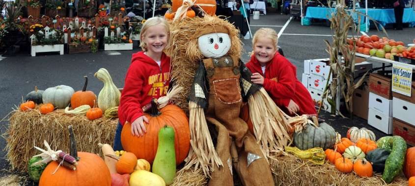 Des Moines Farmers Market Pumpkins