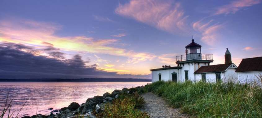 Visit Discovery Park Lighthouse as one of the top free things to do in Seattle