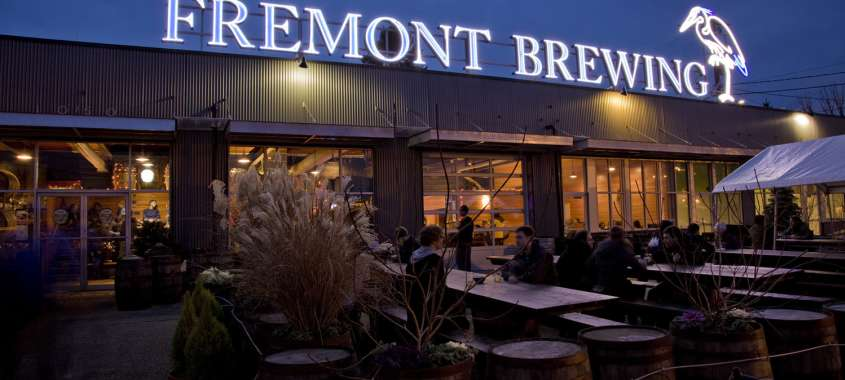 Fremont Brewing Logo Exterior