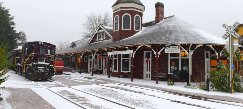 Northwest Railway Museum in Snoqualmie WA
