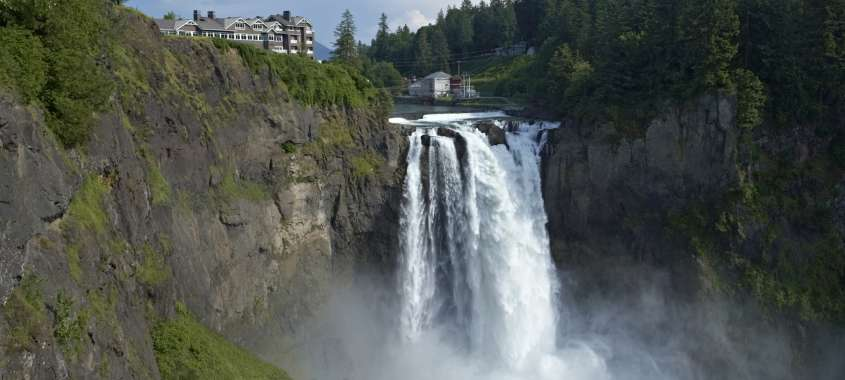 Snoqualmie Falls waterfall