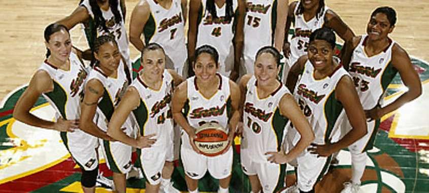 Seattle Storm Women's Basketball Team