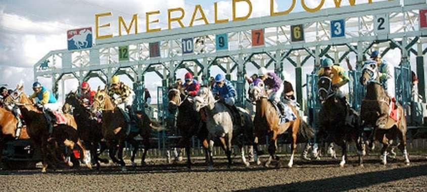Emerald Downs horse race