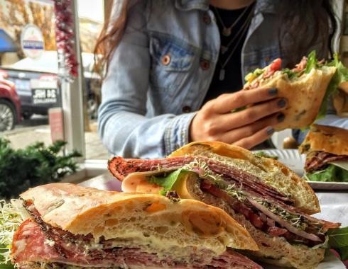 Giugni's Sandwich Shop in St Helena