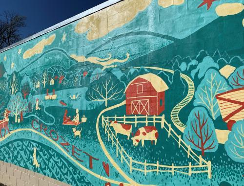 Crozet Mural