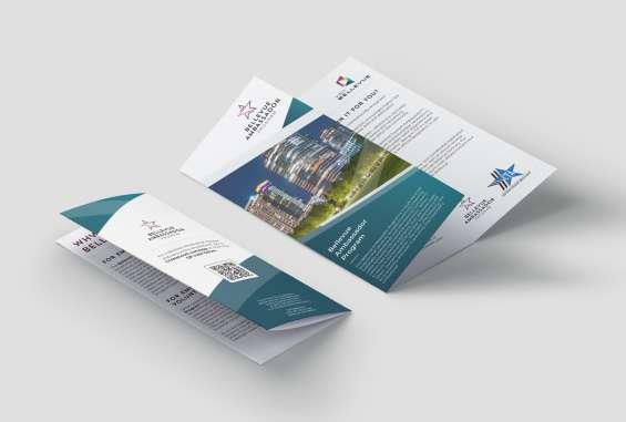 CTA Brochure Mockup
