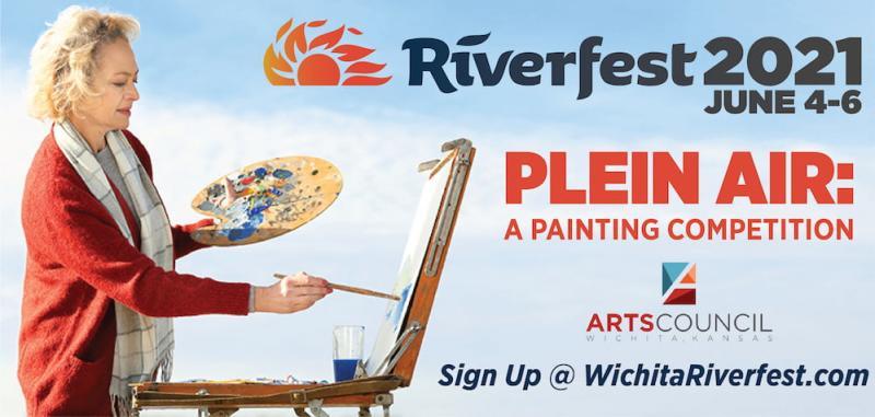 Wichita Riverfest Plein Air Painting Competition