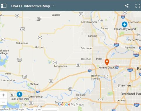 USATF Map