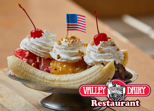 Valley Dairy Banana Split