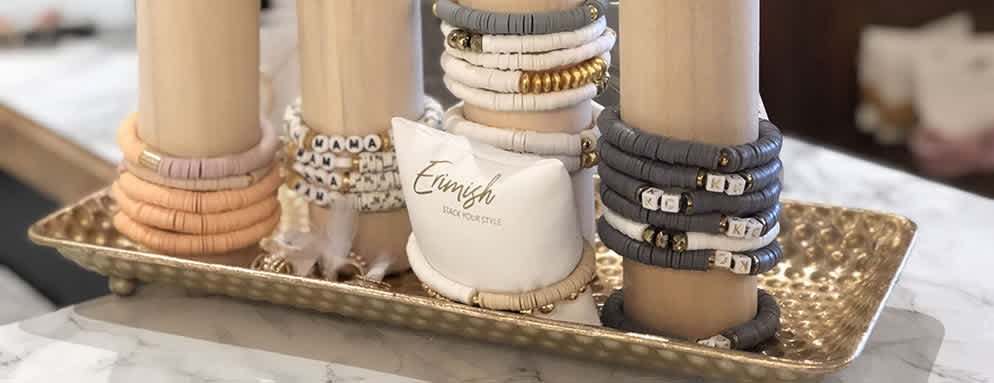 bracelets at frankie and jules in overland park