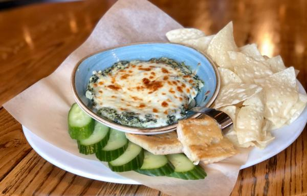 Spinach & Artichoke Dip from River City Brewing