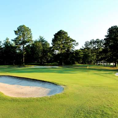 Cypress Lakes Golf Course Bunkers