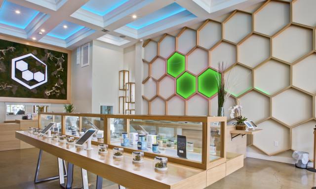 Eco Cannabis Dispensary interior photo