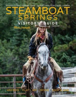 steamboat springs summer visitors guide cover