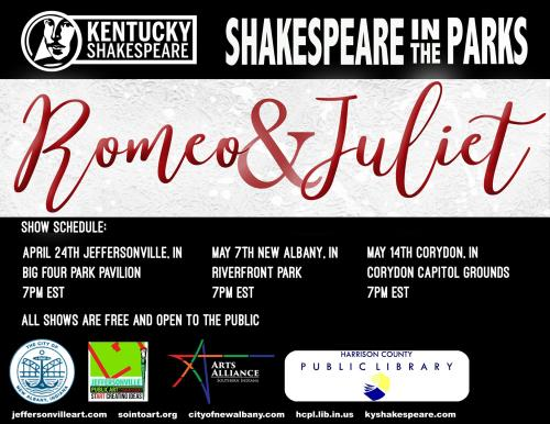 Shakespeare in the Park Romeo and Juliet