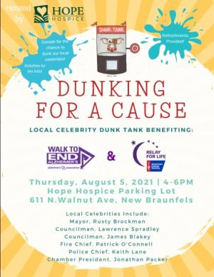 Hope Hospice - Dunking for a Cause