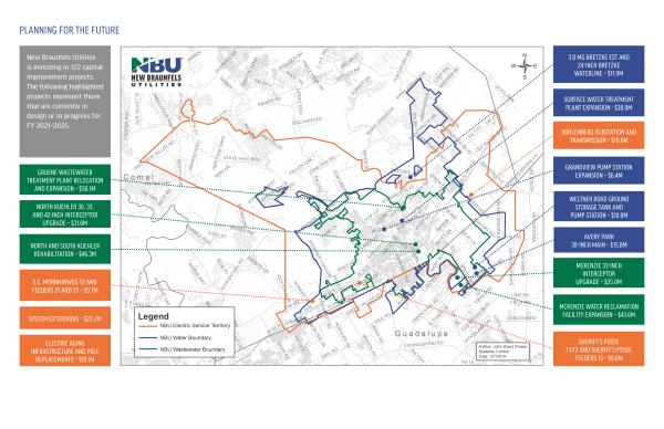NBU Capital Improvements