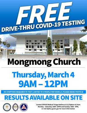 COVID-19 Testing March 4